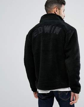 Edwin Borg Jacket With Back Applique