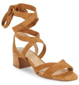 Saks Fifth Avenue Marissa Lace-Up Leather Sandals