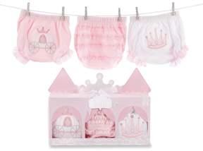 Baby Aspen Her Royal Hineys 3-pk. Princess Bloomers