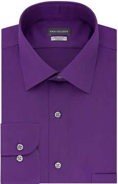 Van Heusen No Iron Lux Sateen Big And Tall Long Sleeve Sateen Dress Shirt