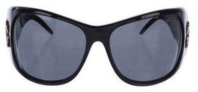 Roberto Cavalli Tinted Embellished Sunglasses