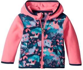 The North Face Kids Glacier Full Zip Hoodie Girl's Sweatshirt