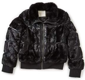 Copper Key Big Girls 7-16 Faux-Fur Bomber Jacket