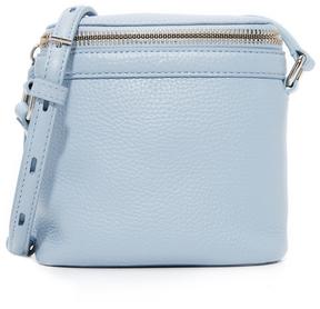 KARA Pebble Leather Stowaway Cross Body Bag