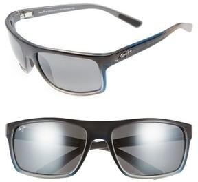 Maui Jim Men's Byron Bay 62Mm Polarized Sunglasses - Marlin/ Neutral Grey