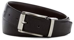 Steve Madden Perforated Reversible Leather Belt