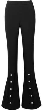 Cushnie et Ochs Emma Stretch-crepe Flared Pants - Black