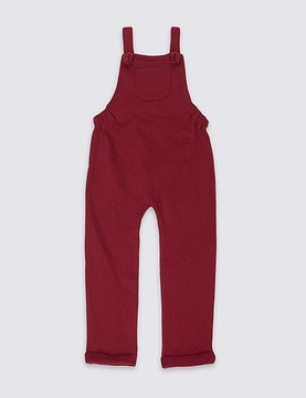 Marks and Spencer Cotton Rich Dungarees (3 Months - 6 Years)