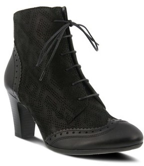 Spring Step Women's Gem Lace-Up Bootie