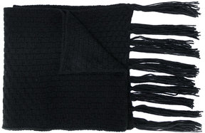 Golden Goose Deluxe Brand fringed knitted scarf