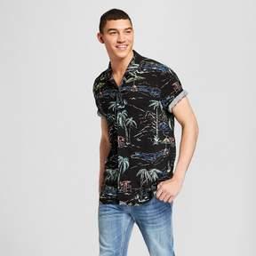 Jackson Men's Short Sleeve Button-Down Shirt Black