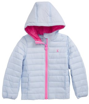 Joules Toddler Girl's Packaway Hooded Jacket