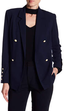 Do & Be Do + Be Faux Pearl Button Blazer