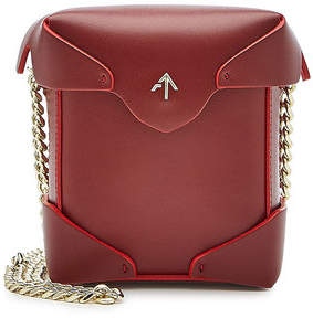 Atelier Manu Micro Pristine Leather Shoulder Bag