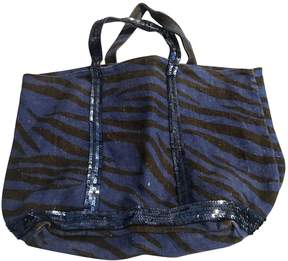 Vanessa Bruno Cabas Blue Cloth Handbag