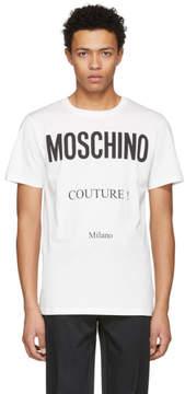 Moschino Off-White Couture Logo T-Shirt