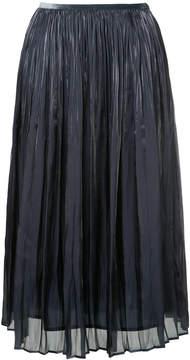 ESTNATION pleated midi skirt