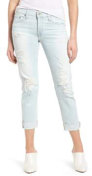 AG Jeans The Ex-Boyfriend Crop Slim Jeans