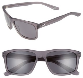 Nike Men's Flow 58Mm Sunglasses - Matte Anthracite