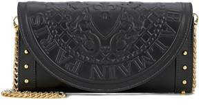 Balmain Leather wallet shoulder bag