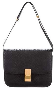 Celine Python Medium Classic Box Bag