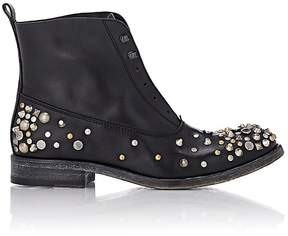 Sartore Women's Studded Laceless Boots