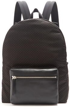 Alexander McQueen Micro-skull print backpack