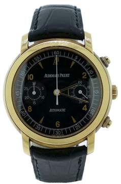 Audemars Piguet Jules Chronograph 18K Yellow Gold Watch
