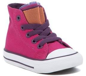 Converse Chuck Taylor Party Hi-Top Cosmos Pink Sneaker (Little Kid & Big Kid)