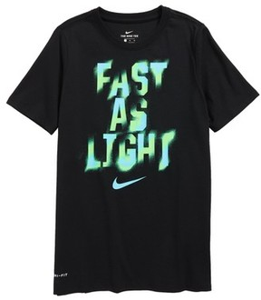 Nike Boy's Dry Graphic T-Shirt