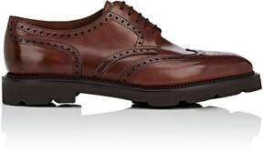 John Lobb Men's Hayle Leather Wingtip Bluchers