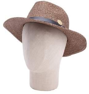 La Fiorentina Classic Belt Trim Straw Hat.