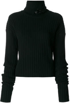Aviu embellished turtle neck sweater