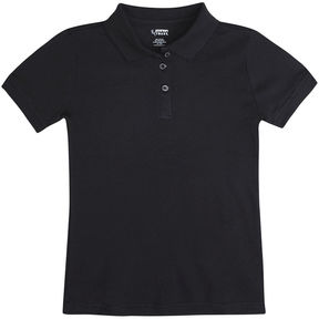 JCPenney French Toast Trimmed Fitted Polo Shirt - Girls 7-20 and Plus