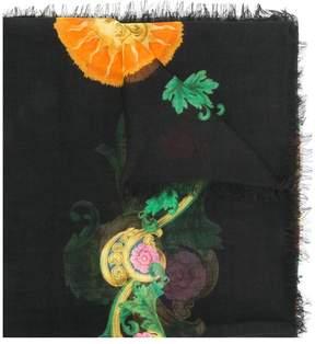 Versace Baroque printed scarf