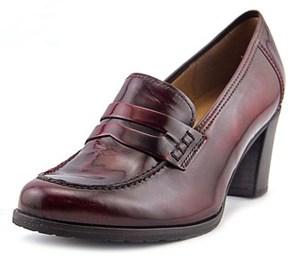Gabor 71.360 Round Toe Leather Heels.