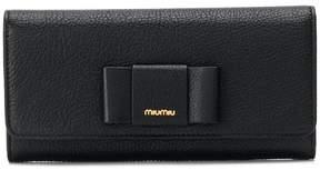 Miu Miu Bow Continental wallet