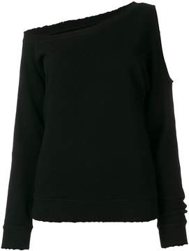 RtA off-the-shoulder sweatshirt
