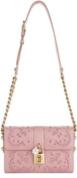 Dolce & Gabbana Lace Padlock Nappa Leather Shoulder Bag - MULTI - STYLE