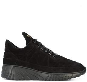 Filling Pieces ridged platform heel sneakers