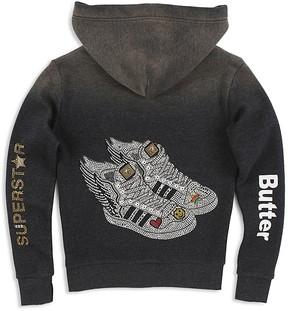 Butter Shoes Girls' Wing Sneakers Hoodie - Big Kid