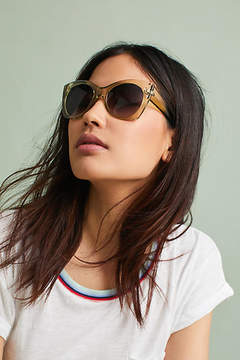 Anthropologie Janiya Cat-Eye Sunglasses