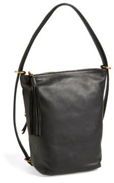 Hobo 'Blaze' Convertible Leather Shoulder Bag - Black