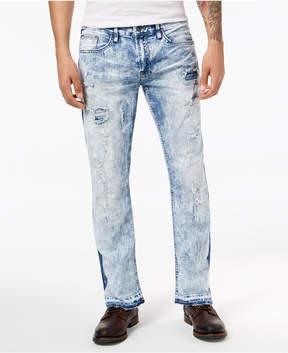 Buffalo David Bitton Men's Straight Six-x Fit Stretch Jeans