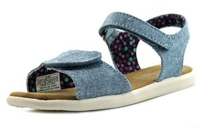 Toms Strappy Open-toe Canvas Slingback Sandal.