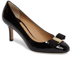 Salvatore Ferragamo Women's Erice Bow Pump