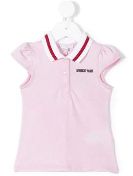 Givenchy Kids sleeveless logo polo shirt