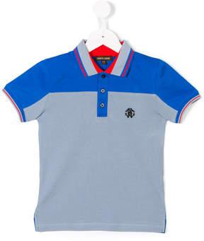 Roberto Cavalli tiger print polo shirt