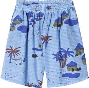 Bobo Choses Heritage Blue Gombe Culotte Pants