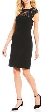 Antonio Melani Jenlynn Lace Panel Dress